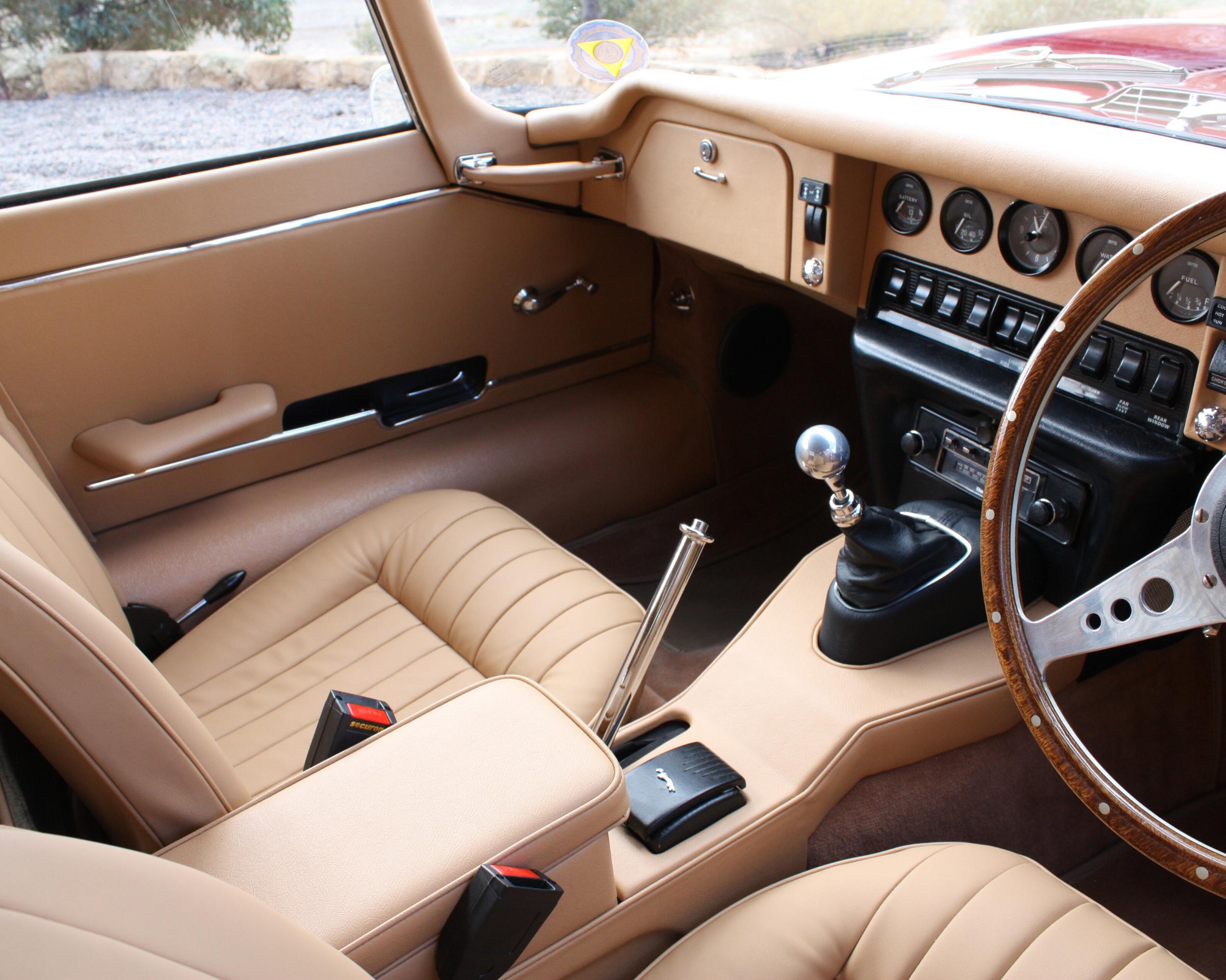 E Type Series 2 Full Interior Re-trim